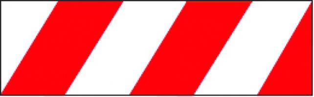 SACHET DE 10 BANDES ALTERNEES (SD+SG)  CLASSE 1  0.56m x 0.141
