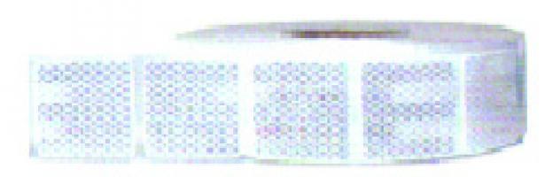 ROULEAU CONTOUR SECURITE 3M BLANC SUPPORT BACHE  55mm x 12.5m