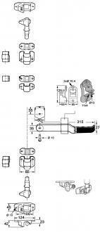 CREMONE ANTI RACK COMPLETE ZN 2344457