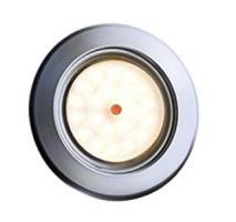 SPOT LED 12/14V 1W BLANC CHAUD 3200°K COLORIS SATINE