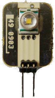 CARTE LED G4 24x19x8MM LEDS BLEUS