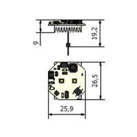 CARTE LED G4 26.5x259x88MM 200LM LEDS BLANCS