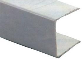 PROFIL U POUR BOIS DE 16MM BLANC (Lg de 2.75m)